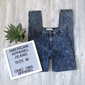 EUC American Apparel High Waisted Easy Jean